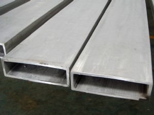 Stainless steel rectangular tube - YS024